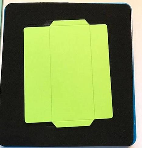 Ellison Design Thick Cuts Stanzform Umschlag rechteckig 10 x 4,4 cm / envelope rectangle 22146