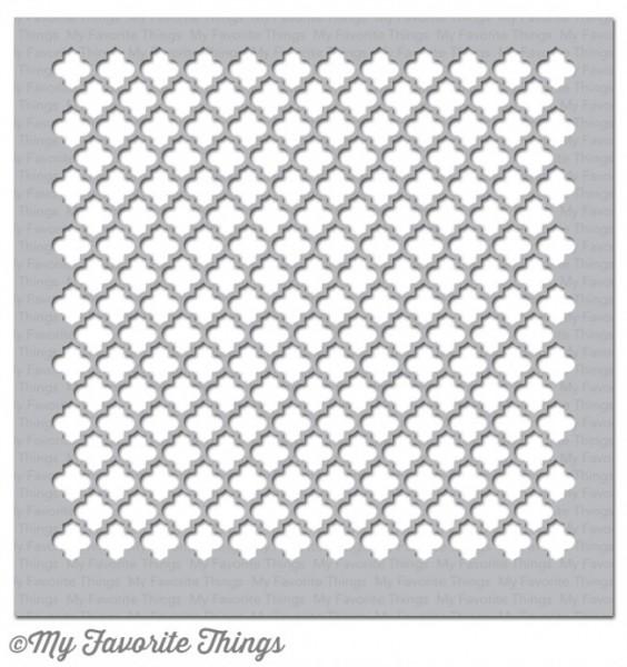 Dienamics Plastik-Schablone Moroccan Lattice ST-83