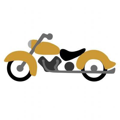 Go Kreate Stanzform Motorrad # 2 / hog # 2 110021