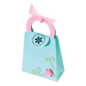 Sizzix Stanzform BIGZ XL Tasche mit Henkel u. Umschlag / bag w/ handles & flap 656239