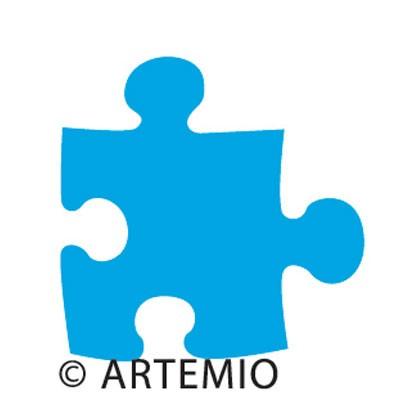 Artemio Happycut Stanzform 5,2 x 5,2 cm Puzzle / jigsaw # 1 18020007