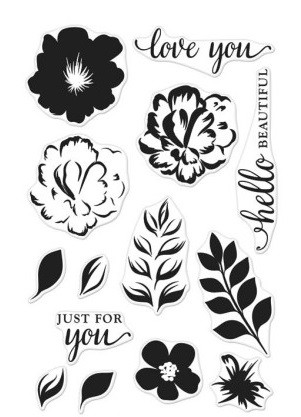 Hero Arts Clearstempel-Set For You Flowers Color Layering CL944
