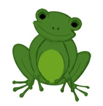 Frosch / frog 0782