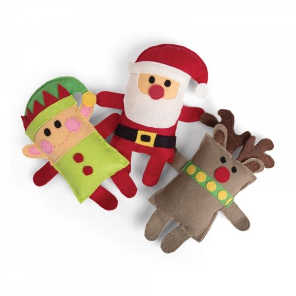 Sizzix Stanzform BIGZ PLUS Elfe, Nikolaus u. Elch / Santa, Elf, Reindeer 662613