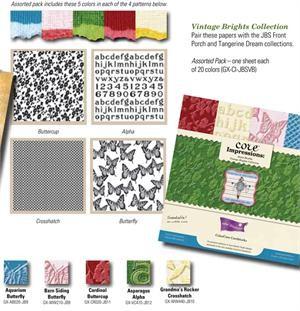Block Core Impressions Vintage Brights 30,5x30,5 cm GX-CI-JBSV