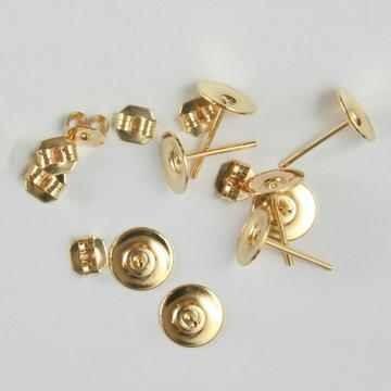 Ohrstecker ( 8 Stück ) GOLD in Plastikdose 117280/1050