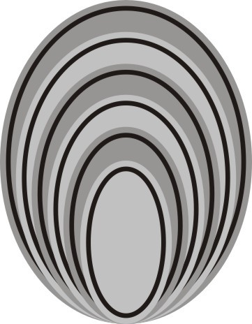 Cheery Lynn Stackers nesting Oval Classic M-7
