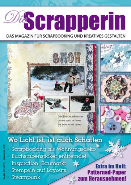 Zeitschrift DIE SCRAPPERIN WINTER 02/10 ( blau )