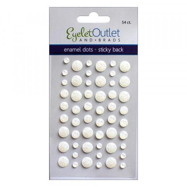 Eyelet Outlet Adhesive-Back Enamel Dots 23563 / EN54-E18A