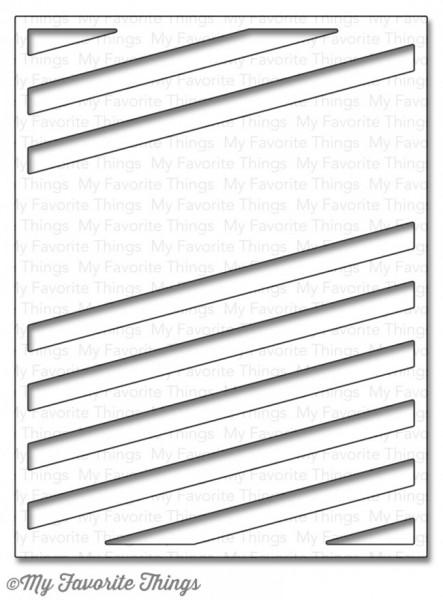 Dienamics Stanzform Diagonal Sentiment Strip Cover-Up MFT-903