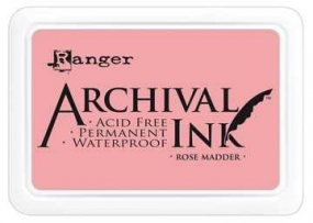 Archival Stempelkissen ROSE MADDER ( rosa ) AIP30638