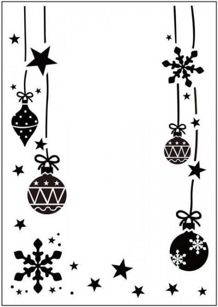 Prägefolder exclusiv Christmas Ornaments CTFD3032