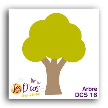 Toga Stanzform Baum / Arbre DCS16