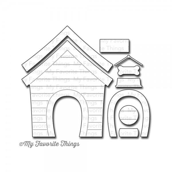 Dienamics Stanzform Hundehütte / Dog House MFT-619