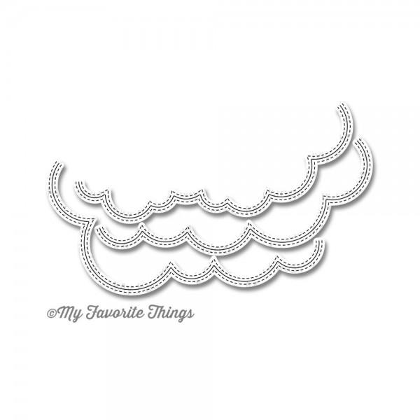 Dienamics Stanzform Stitched Cloud Edges MFT-834