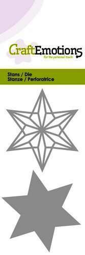 CraftEmotions Stanzform Draht-Stern / Wire Shape Star 115633/0226