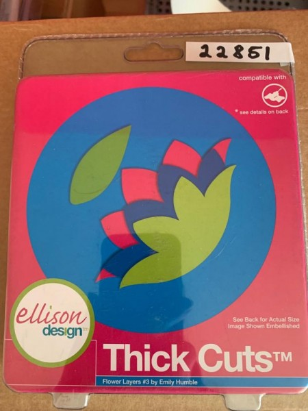Ellison Design Thick Cuts Stanzform Blumenlagen # 3 / flower layers # 3 22851