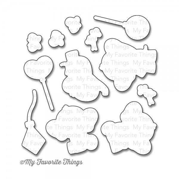 Dienamics Stanzform Elefanten / Adorable Elephants MFT-814