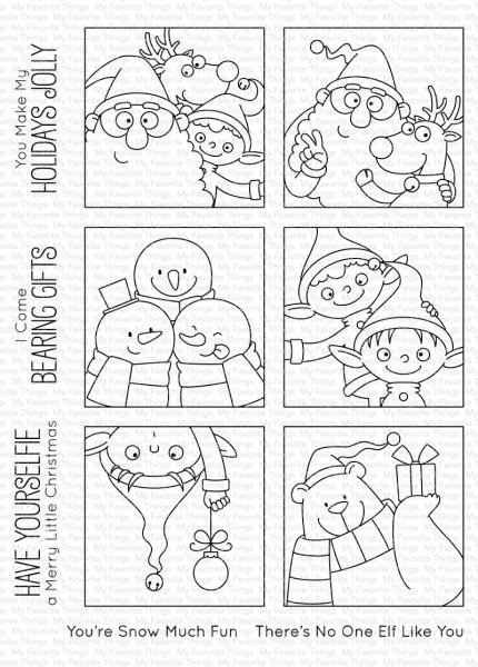 My Favorite Things Clearstempel Christmas sELFies BB-84