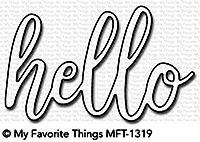 Dienamics Stanzform ' hello ' MFT-1319