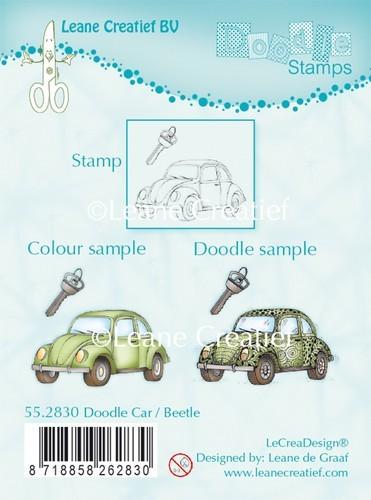 Leane Creatief Silikon Stempel Auto Beetle / Car Beetle 55.2830