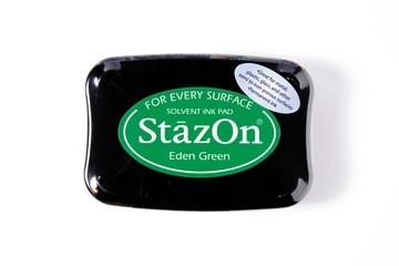 StazOn Stempelkissen grün / eden green SZ-000-053