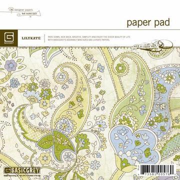 Paper Pad Lilykate 15,2 cm x 15,2 cm LIK-576