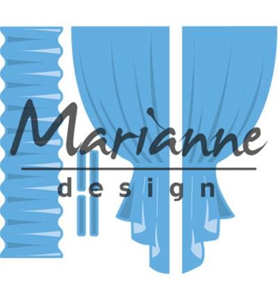 Marianne D Stanz-u. Prägeform Vorhang / Curtains LR0502