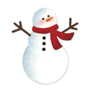 BIGZ Schneemann / snowman 656 299