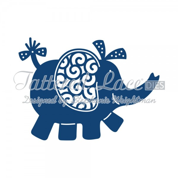 Tattered Lace Stanzform Elefant / Elephant D568