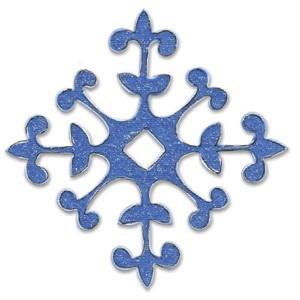 Sizzix Stanzform BIGZ Schneeflocke / snowflake 655545