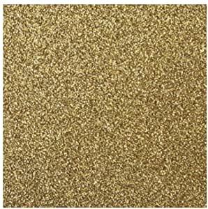 Scrapbook-Papier Glitter GOLD 30,5 cm x 30,5 cm 79-668-616