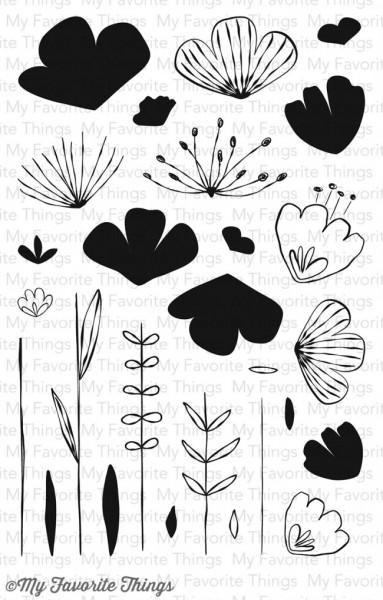 My Favorite Things Clearstempel-Set Blumen / Sketched Blooms CS-98