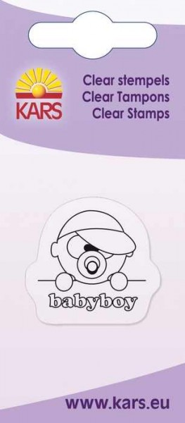 Clear Stempel Baby Junge 180009/2011