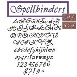 Alphabet u. Zahlen Spellbinders L2-12