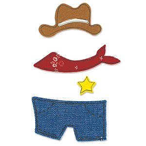 Cowboy Outfit / animal dress ups cowboy outfit 655 435