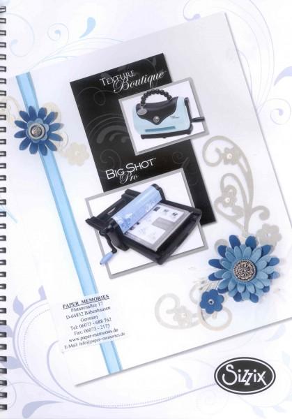 Katalog Sizzix Ausgabe 2009 / 2010 ( blau )