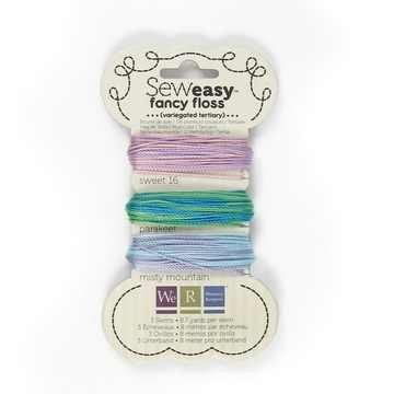 We R Memory Keppers SEW EASY Faden-Sortiment VARIEGATED TERTIARY 71156-8