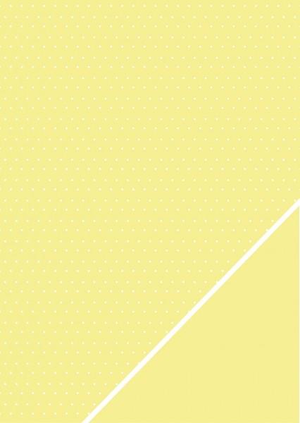 Bastelkarton Pünktchen A 4 ZITRONE 80-587-160