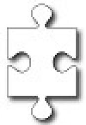 Frantic Stamper Stanzform Puzzle-Teil / Puzzle Piece FRA-DIE-09734