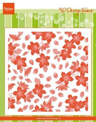 Marianne D Prägefolder Blüten / Blossom DF3446