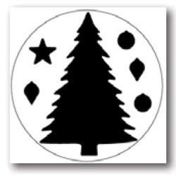 Martha Stewart Giant Christmas tree w/ ornaments M232297