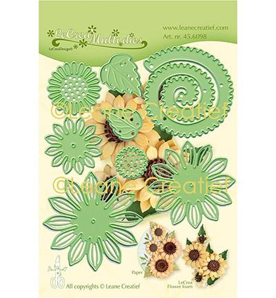 Leane Creatief Stanz-u. Prägeform Sonnenblume 3-D / Multi Die Flower 019 Sunflower 45.6098