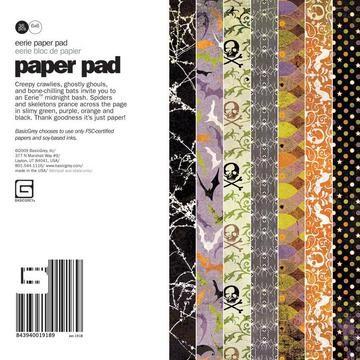 Paper Pad Eerie 15,2 cm x 15,2 cm EER-1918