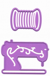 Joycrafts Stanz-u.Prägeform Nähmaschine u. Garn 59 6002/0059