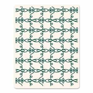 Sizzix Letterpress Platte large Elegant Loops 657073