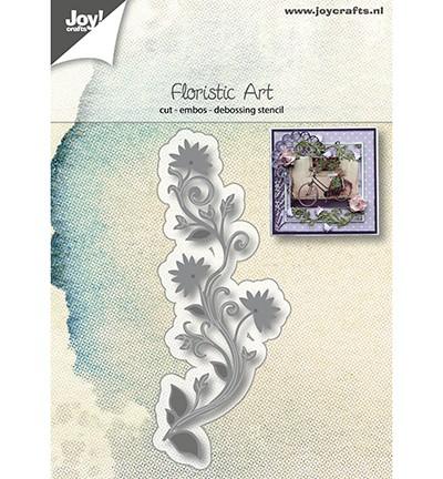 Joycrafts Stanzform Zweig mit Blumen / Floristic Art 6002/1169