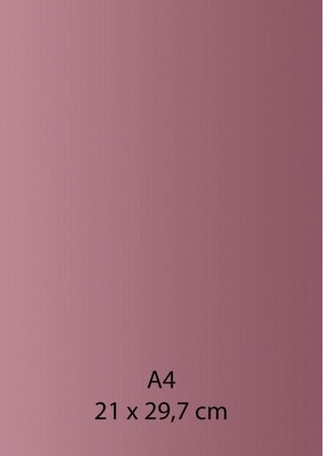 Pearl Papier A 4 ROSA / ALT-ROSA mit Klebefolie 652000/1220