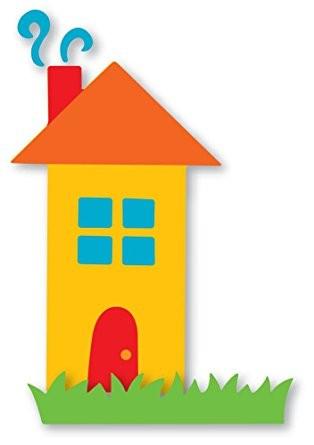 Sizzix Stanzform Originals LARGE Haus u. Gras / home sweet home # 3 38-0994