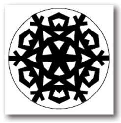 Martha Stewart Motivstanzer Nordic Snowflake 42-25034